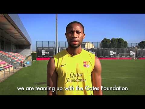 Watch video FC Barcelona: Join Seydou Keita to End Polio