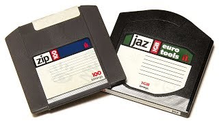 Zip & Jaz Retro Storage