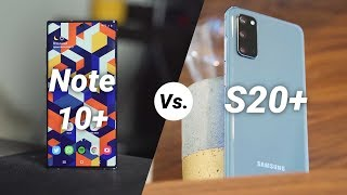 Should you buy the Samsung Galaxy Note10+ or Samsung Galaxy S20+ at the same price?