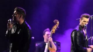 The Baseballs - Bitch (Meredith Brooks cover) (live) (Moscow 03.04.2014)