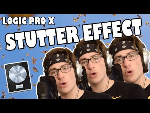 Logic Pro X STUTTER EFFECT Tutorial (EASY)