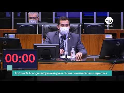 Aprovada licença temporária para rádios comunitárias suspensas - 05/10/21