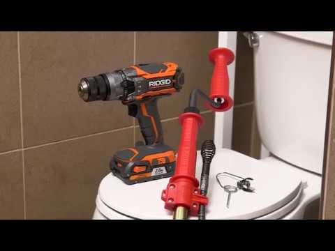 How-To Use RIDGID K-6P XL Toilet Auger