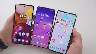 КОНКУРС! Сравнение Samsung Galaxy S10 Lite - Galaxy A71 - с / Арстайл /