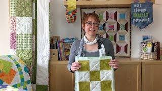 Quilt Tutorial Block1 Patchworkdecke einfach gemacht