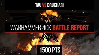 Warhammer 40k battle report codex tyranids vs index tau 1500 pts warhammer 40k 8th edition tau vs drukhari 1500pts battle report fandeluxe Image collections
