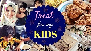 Mommy treat for kids / Family weekend Vlog / What i made for my kids | Kholo.pk