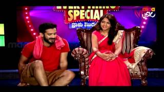 Lasya as Housewife and Ravi as Servant - Everything Special