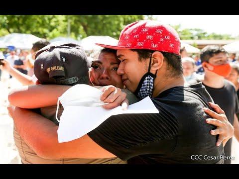 Gobierno de Nicaragua otorga beneficio legal de convivencia familiar a más de mil presos