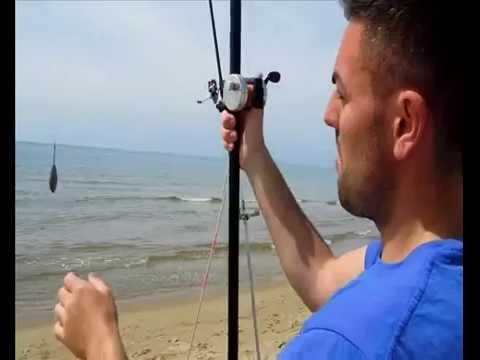 Pesca di gioco di simulatore di video
