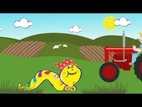 Housenka Julie - Na farmě
