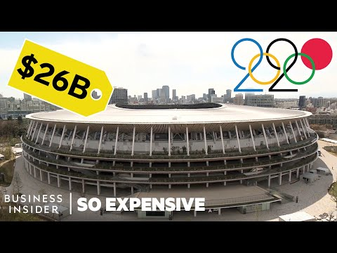 Why the Tokyo Olympics Are History's Most EXPENISVE Games