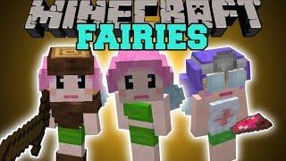 Minecraft: FAIRY MOD (CREATE AN ARMY OR BECOME YOUR SERVANTS!) Mod Showcase