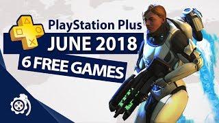 PlayStation Plus (PS+) June 2018