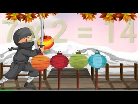 Video of Times Tables Game
