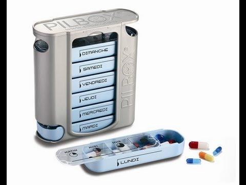 Pilbox 7 - pilulier semainier - FR