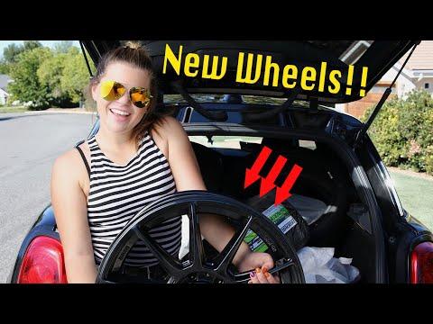 My Mini Cooper F56 gets NEW WHEELS!!!