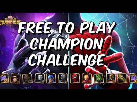Chadwick & Tom's Champion Challenge - Free To Play Run - Marvel Contest Of Champions