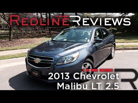 2013 Chevrolet Malibu LT 2.5 Review, Walkaround, Exhaust, & Test Drive