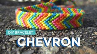 DIY Chevron Friendship Bracelet   Easy Friendship Bracelet DIY For Summer!