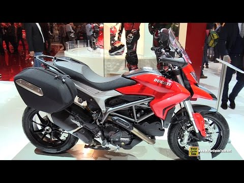 2015 Ducati Hyperstrada - Walkaround - 2014 EICMA Milan Motorcycle Exhibition