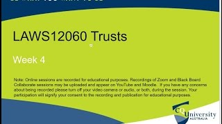 LAWS12060_04_2017 Trusts: Resulting and Constructive Trusts