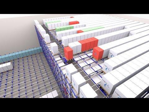 Phased iCUBE automatic warehouse implementation