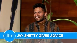 Jay Shetty Gives Audience Advice on Leadership, Success, and Self-Esteem