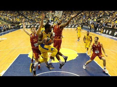 Highlights: Top 16, Round 13 vs. Maccabi Electra Tel Aviv