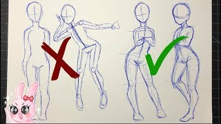 Why Your Drawings Are So Stiff