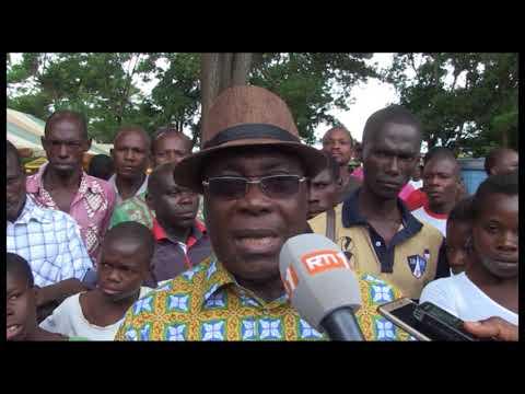 Guiglo / conflit foncier : La solidarité s'organise autour des déplacés