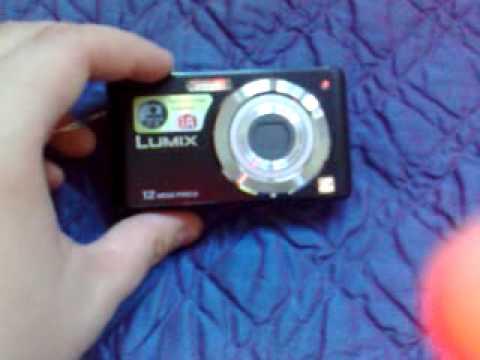 Panasonic Lumix DMC-FS12 Unboxing