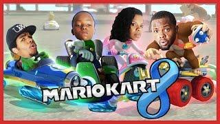 THE WORST DRIVER IN HISTORY!! - Family Beatdown 12 Pt.4 I Mario Kart 8 Gameplay