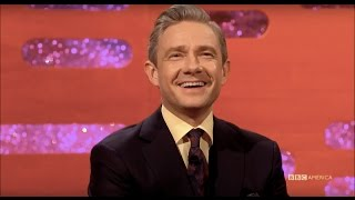 Martin Freeman Can Tell What Fandom Youre From - The Graham Norton Show