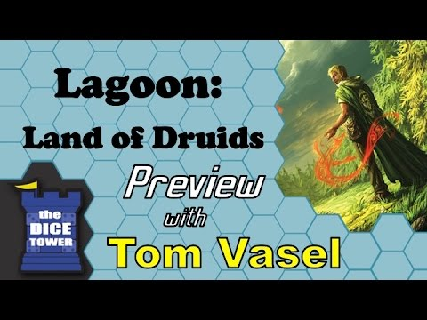 Dice Tower Reviews: Lagoon: Land of Druids