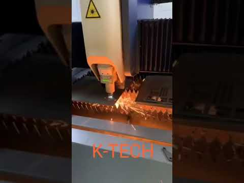 K Tech Fiber Laser Machine