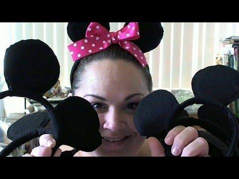 Πως να φτιάξετε αυτιά Μickey και Minnie Mouse