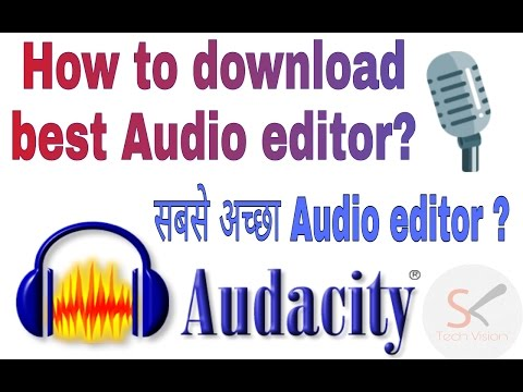 Download How To Download Free Best Audio Editor Audacity