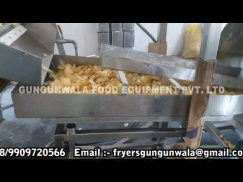 Automatic Mini Potato Chips Plant