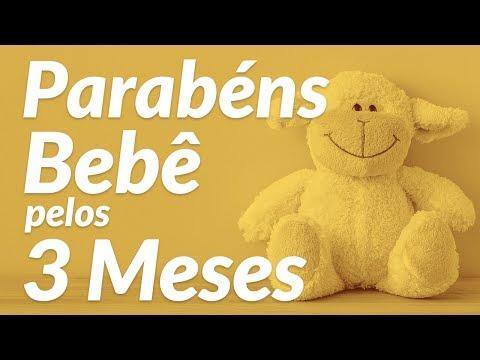 Bebê De 3 Meses Mensagens De Aniversário