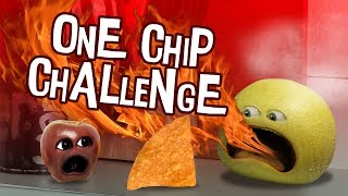 Annoying Orange   One Chip Challenge (Gone Wrong!)