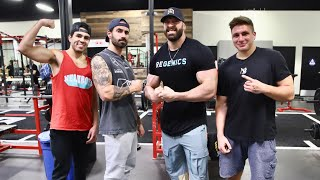 TRAINING DAY W/ NELK BOYS, STEVE WILL DO IT, & DOM MAZZETTI