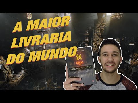 A LIVRARIA 24 HORAS DO MR. PENUMBRA (sem spoiler) | André Jorge Jr