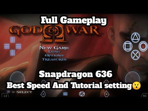 God Of War 2 Gameplay In Asus Zenfone Max Pro M1 Via Demon Ps2 Emulator