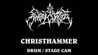 Angelcorpse Drum/Stage Cam , Christhammer live