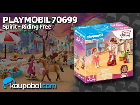 Vidéo PLAYMOBIL Spirit - Riding Free 70699 : Lucky enfant avec Milagro