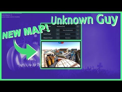 New Skillwarz map! *Factory map gameplay*