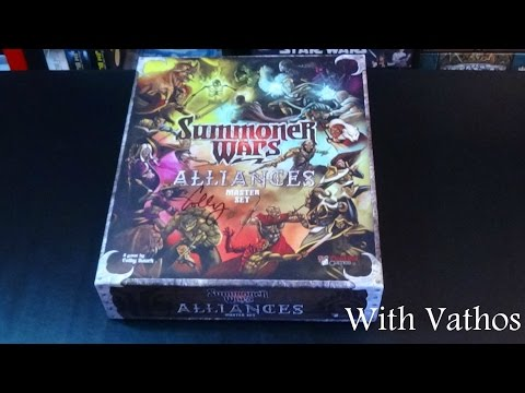Summoner Wars: Alliances Unboxing