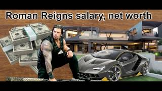 Roman Reigns salary, net worth –USA wrestler (265 lb)