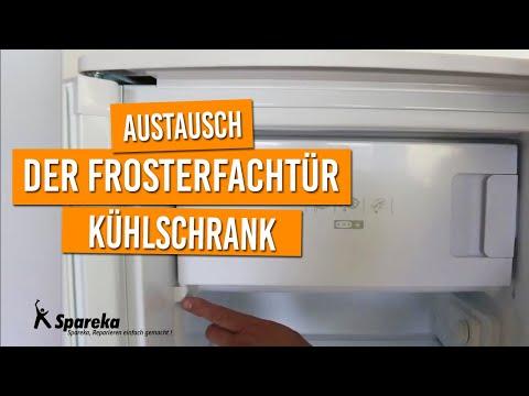 Anleitung für den Austausch der Frosterfachtür des Kühlschranks